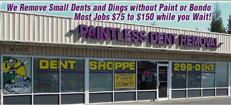 Bumper Repair, Dent Repair, Folsom